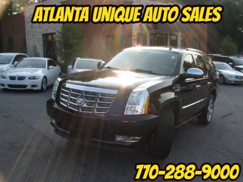 2008 Cadillac Escalade for sale at Atlanta Unique Auto Sales in Norcross GA