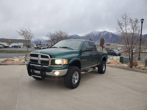 2003 Dodge Ram Pickup 2500 for sale at FRESH TREAD AUTO LLC in Springville UT