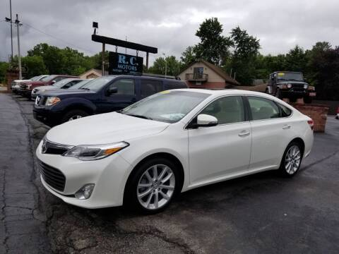 2013 Toyota Avalon for sale at R C Motors in Lunenburg MA
