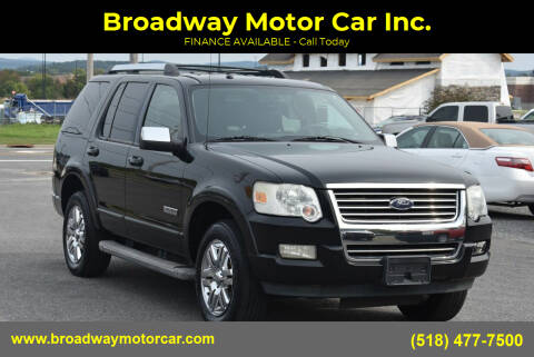 2006 Ford Explorer for sale at Broadway Motor Car Inc. in Rensselaer NY