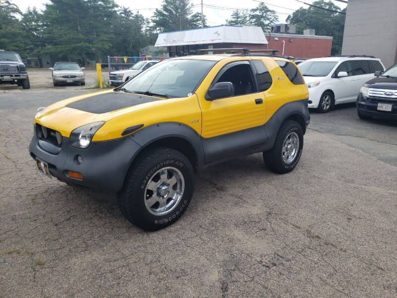 2000 Isuzu VehiCROSS for sale at Topham Automotive Inc. in Middleboro MA