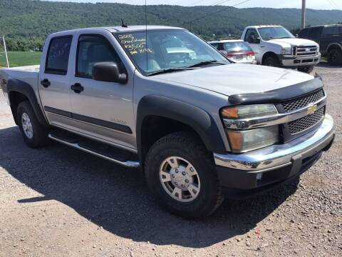 2005 Chevrolet Colorado for sale at Troys Auto Sales in Dornsife PA