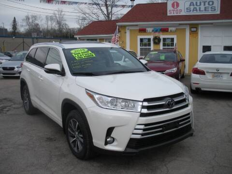 2018 Toyota Highlander for sale at One Stop Auto Sales in North Attleboro MA