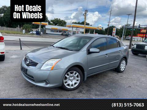 2012 Nissan Sentra for sale at Hot Deals On Wheels in Tampa FL