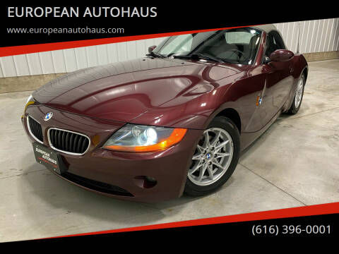 2003 BMW Z4 for sale at EUROPEAN AUTOHAUS in Holland MI