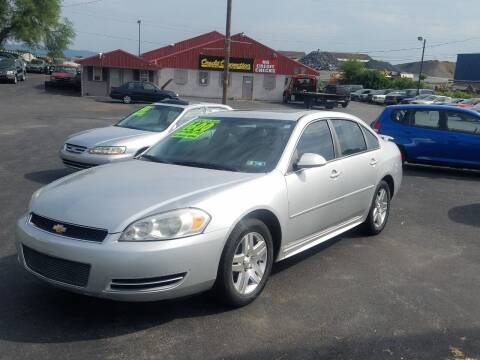 2013 Chevrolet Impala for sale at Credit Connection Auto Sales Inc. CARLISLE in Carlisle PA