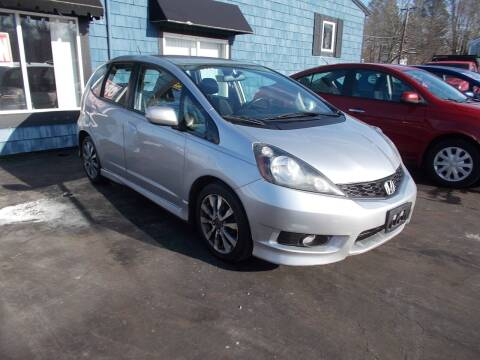 2012 Honda Fit for sale at MATTESON MOTORS in Raynham MA