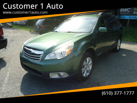2011 Subaru Outback for sale at Customer 1 Auto in Lehighton PA