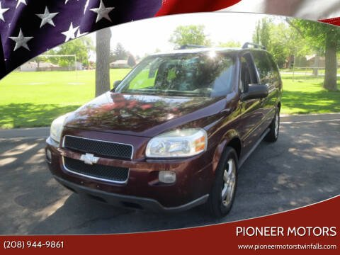 2008 Chevrolet Uplander for sale at Pioneer Motors in Twin Falls ID