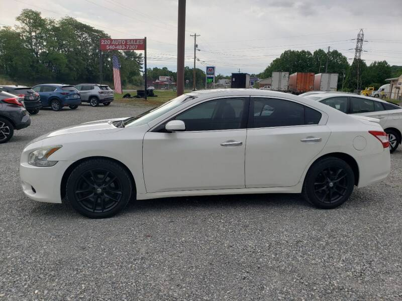 2009 Nissan Maxima for sale at 220 Auto Sales in Rocky Mount VA
