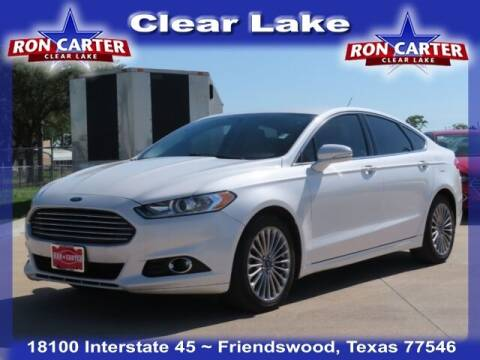 2015 Ford Fusion for sale at Ron Carter  Clear Lake Used Cars in Houston TX