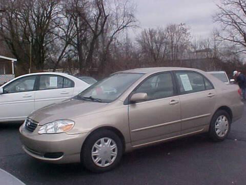 2006 Toyota Corolla for sale at Bates Auto & Truck Center in Zanesville OH
