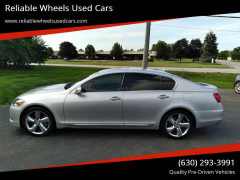 2010 Lexus GS 350 for sale at Reliable Wheels Used Cars in West Chicago IL