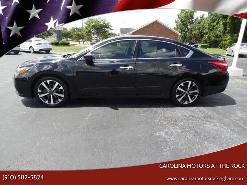 2016 Nissan Altima for sale at Carolina Motors at the Rock in Rockingham NC