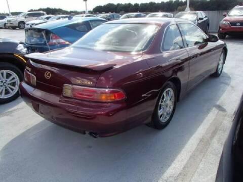 1997 Lexus SC 400 for sale at WHEEL UNIK AUTOMOTIVE & ACCESSORIES INC in Orlando FL