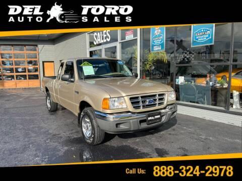 2002 Ford Ranger for sale at DEL TORO AUTO SALES in Auburn WA
