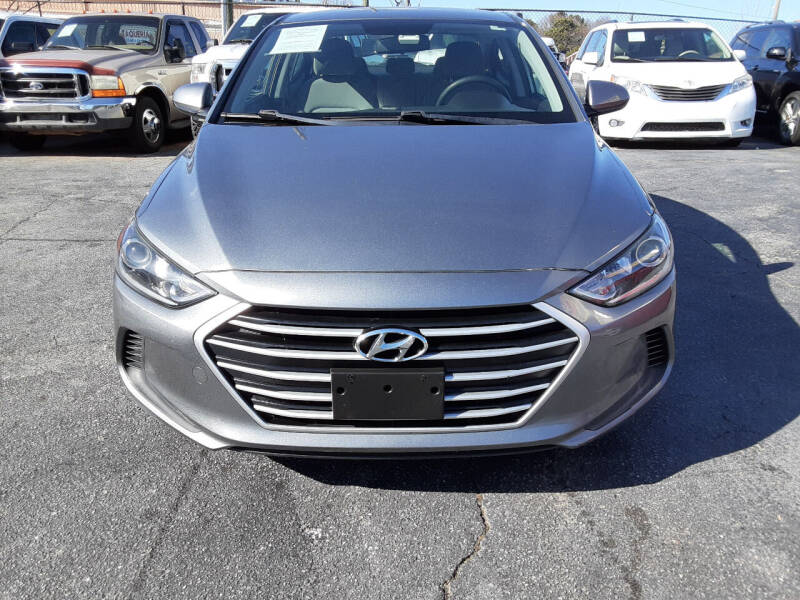 2017 Hyundai Elantra for sale at LOS PAISANOS AUTO & TRUCK SALES LLC in Peachtree Corners GA