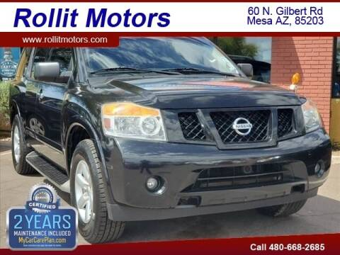 2015 Nissan Armada for sale at Rollit Motors in Mesa AZ