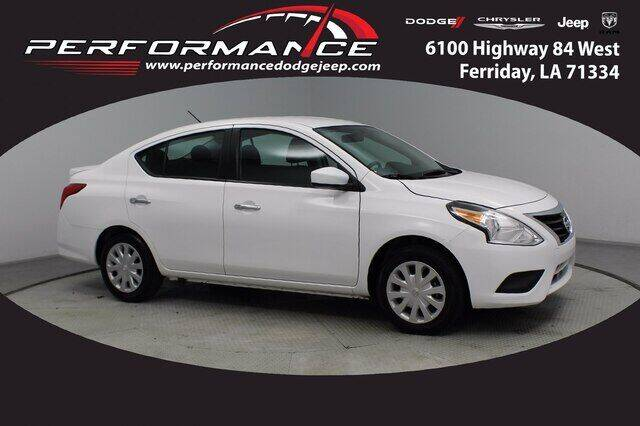 2019 Nissan Versa for sale at Performance Dodge Chrysler Jeep in Ferriday LA