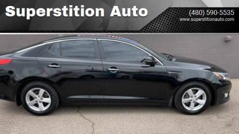 2014 Kia Optima for sale at Superstition Auto in Mesa AZ