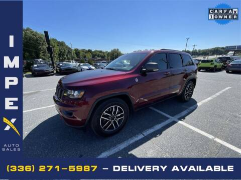 2021 Jeep Grand Cherokee for sale at Impex Auto Sales in Greensboro NC