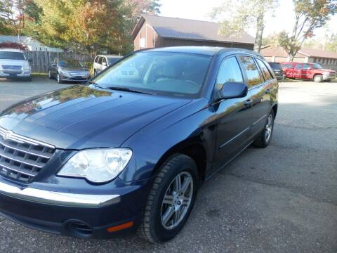 2007 Chrysler Pacifica for sale at G T SALES in Marquette MI