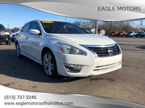 2013 Nissan Altima for sale at Eagle Motors in Hamilton OH