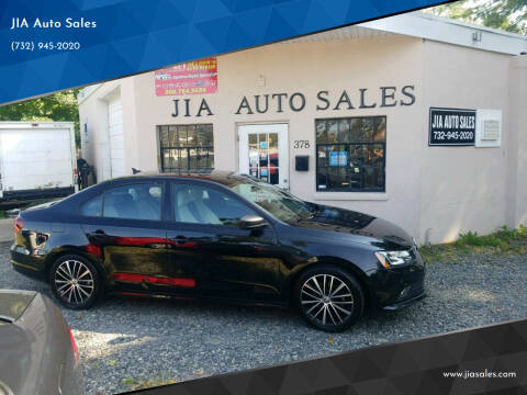 2016 Volkswagen Jetta for sale at JIA Auto Sales in Port Monmouth NJ