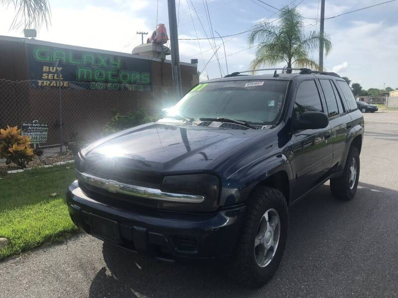 2007 Chevrolet TrailBlazer for sale at Galaxy Motors Inc in Melbourne FL