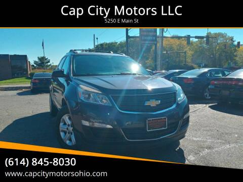 2014 Chevrolet Traverse for sale at Cap City Motors LLC in Columbus OH