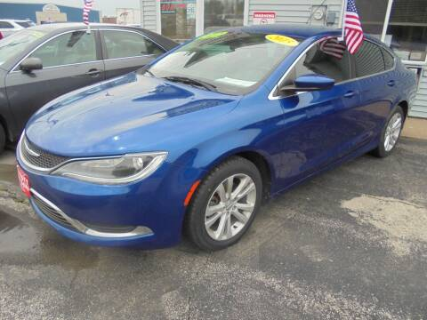 2015 Chrysler 200 for sale at Century Auto Sales LLC in Appleton WI