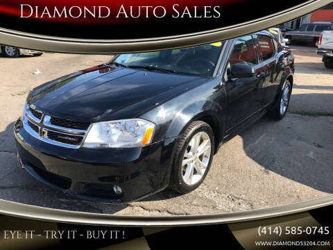 2011 Dodge Avenger for sale at Diamond Auto Sales in Milwaukee WI