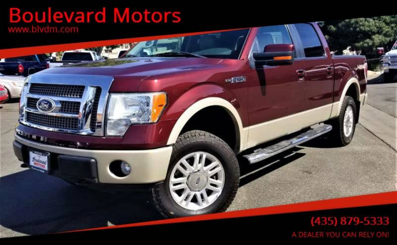 2010 Ford F-150 for sale at Boulevard Motors in St George UT