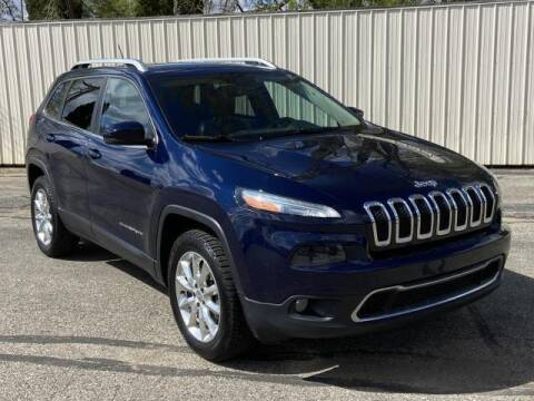 2014 Jeep Cherokee for sale at Miller Auto Sales in Saint Louis MI