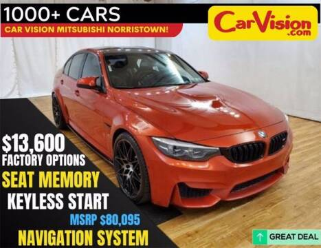 2018 BMW M3 for sale at Car Vision Buying Center in Norristown PA