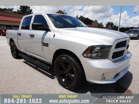 2018 RAM Ram Pickup 1500 for sale at Auto Q Car and Truck Sales in Mauldin SC