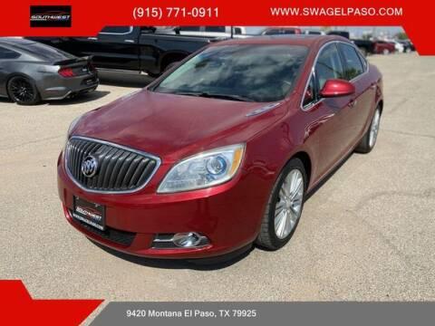 2013 Buick Verano for sale at SOUTHWEST AUTO GROUP-EL PASO in El Paso TX