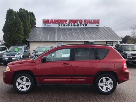2010 Jeep Compass for sale at BLAESER AUTO LLC in Chippewa Falls WI