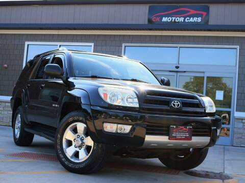 2004 Toyota 4Runner for sale at CK MOTOR CARS in Elgin IL
