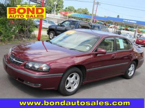 2002 Chevrolet Impala for sale at Bond Auto Sales in St Petersburg FL