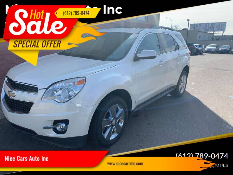 2012 Chevrolet Equinox for sale at Nice Cars Auto Inc in Minneapolis MN