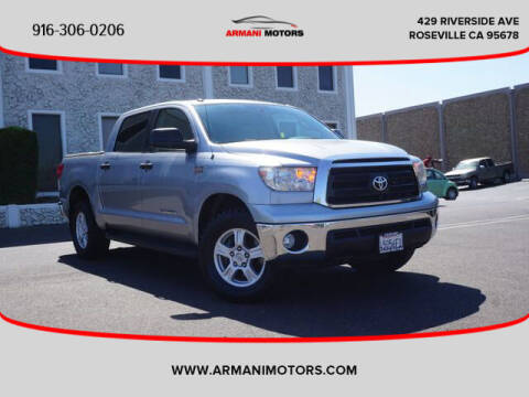 2012 Toyota Tundra for sale at Armani Motors in Roseville CA