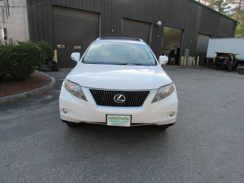 2010 Lexus RX 350 for sale at Heritage Truck and Auto Inc. in Londonderry NH