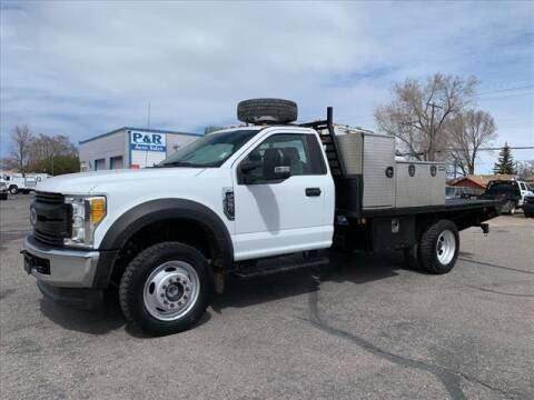 2017 Ford F-550 Super Duty for sale at P & R Auto Sales in Pocatello ID