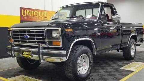 1983 Ford F-150 for sale at UNIQUE SPECIALTY & CLASSICS in Mankato MN