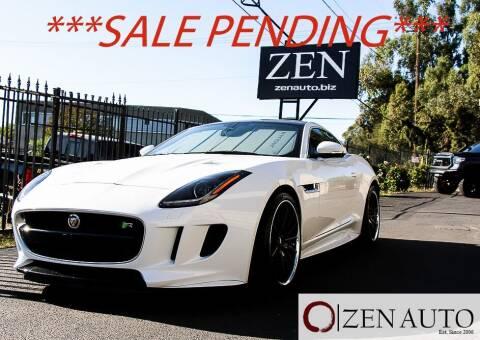 2016 Jaguar F-TYPE for sale at Zen Auto Sales in Sacramento CA