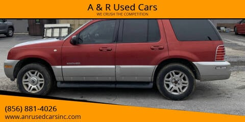 2002 Mercury Mountaineer for sale at A & R Used Cars in Clayton NJ