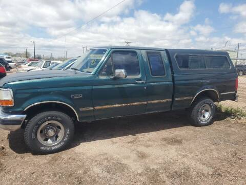 1993 Ford F-150 for sale at PYRAMID MOTORS - Fountain Lot in Fountain CO