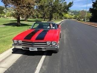 1969 Chevrolet Malibu for sale at Classic Car Deals in Cadillac MI