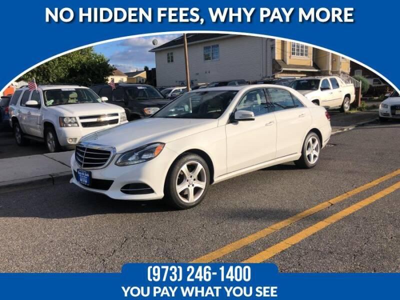 2016 Mercedes-Benz E-Class for sale at Route 46 Auto Sales Inc in Lodi NJ